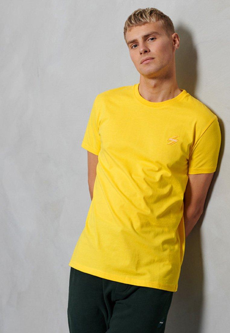 Superdry T-Shirt basic - pale grey marl/hellgrau cXXnhZ