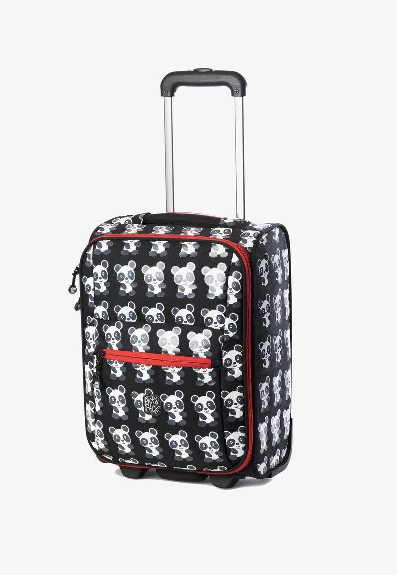 pick & PACK - PANDA  - Wheeled suitcase - schwarz