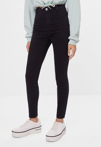 Bershka - Jeggings - black - 0