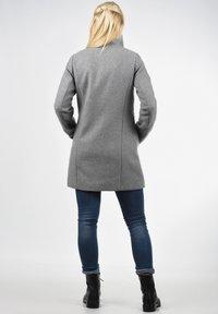 Desires - WOLLMANTEL WOLKE - Manteau court - light grey - 2