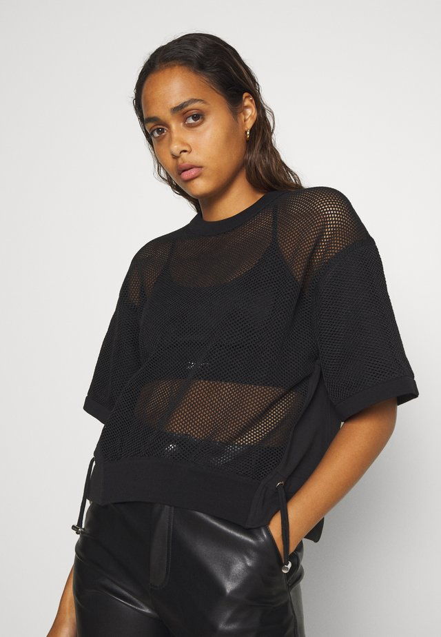 ROSSI - T-shirt imprimé - black