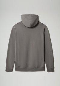 Napapijri - B-BOX HOODIE - Hoodie - grey gargoyle - 6