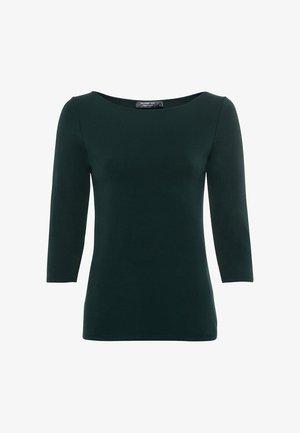 Long sleeved top - dunkelgrün