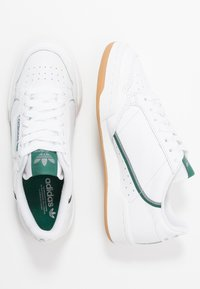 adidas Originals - CONTINENTAL 80 SKATEBOARD SHOES - Sneakers - footwear white/grey three/collegiate green - 1