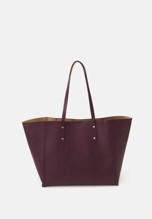 BAG SHOPPER JENNIE - Velká kabelka - dark red
