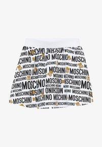 MOSCHINO - SKIRT ADDITION - Minisukně - optic white - 2