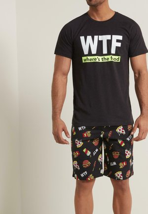 WTF - Pyjama set - nero st.wtf