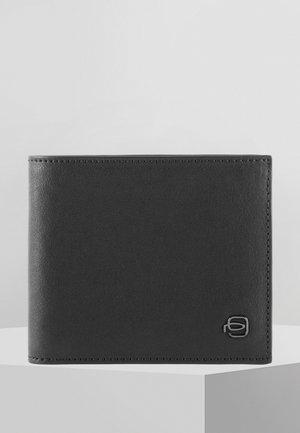 PIQUADRO BLACK SQUARE GELDBÖRSE LEDER 11,5 CM - Wallet - black