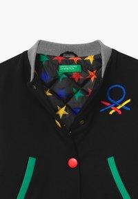 Benetton - EUROPE GIRL - Zimní bunda - black - 2