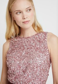 Lace & Beads - PICASSO - Top - dark pink - 4
