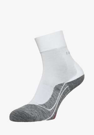 RU4  - Sports socks - white/grey