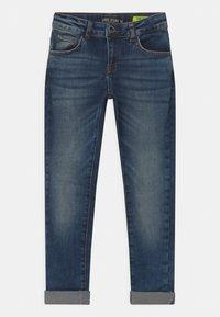 Cars Jeans - ROOKLYN - Džíny Slim Fit - blue denim - 0