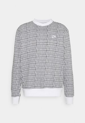 CLUB CREW GRID - Sweater - white
