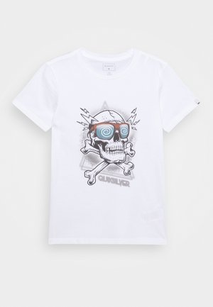 HELL REVIVAL - T-shirt med print - white