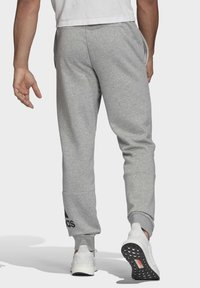 adidas Performance - BADGE OF SPORT FRENCH TERRY JOGGERS - Tracksuit bottoms - grey - 1