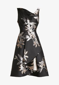 Adrianna Papell - SHORT DRESS - Robe de soirée - black/champagne - 6