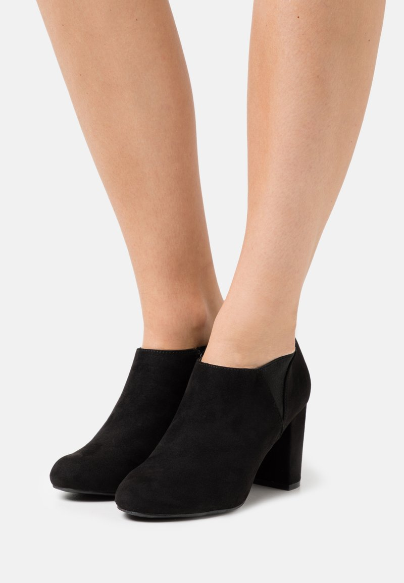 New Look Wide Fit - WIDE FIT BINGO - Tacones - black
