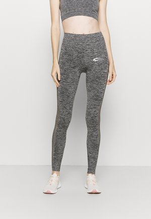SEAMLESS LEGGINGS CATCH - Trikoot - anthrazit
