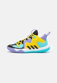 adidas Performance - HARDEN STEPBACK 2 BASKETBALL BOUNCE SHOES UNISEX - Basketball shoes - core black/team yellow - 0