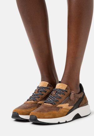 Trainers - marone/bronce