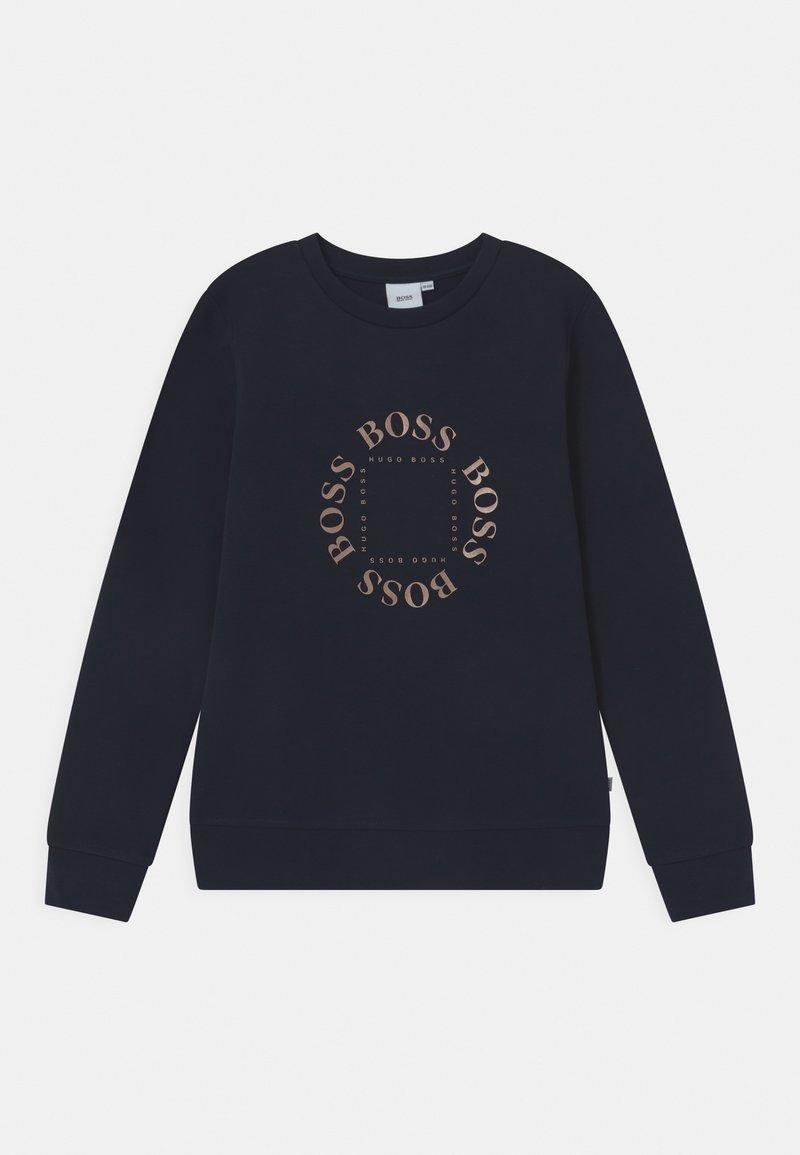BOSS Kidswear - Mikina - navy