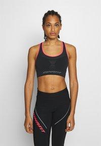 Dynafit - SPEED BRA - Light support sports bra - black out - 0