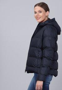 Basics and More - Winter jacket - navy - 3