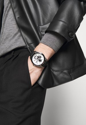 SPORT - Kronografklockor - black/silver-coloured