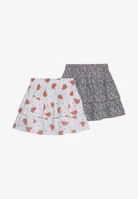 Name it - NKFVIGGA SKIRT 2 PACK - A-line skirt - bright white - 3