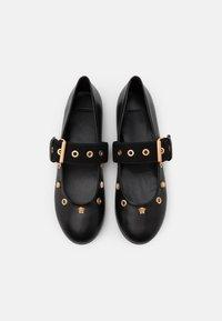 Versace - VELE MEDUSE - Sandalen - black/gold - 3