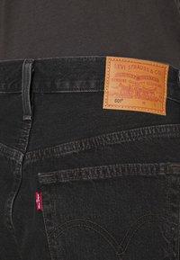 Levi's® - 501® MID THIGH SHORT - Short en jean - lunar black - 3