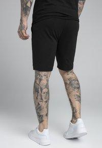 SIKSILK - DUAL LOGO - Shorts - black - 2