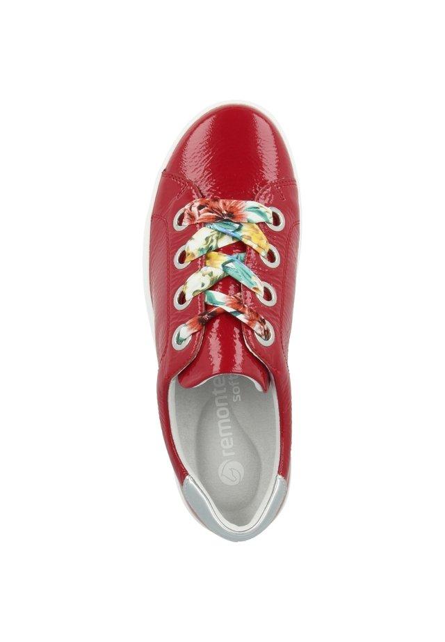 Sneakers laag - mohn-silver (d1400-33)