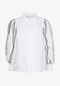 CMEO COLLECTIVE - FOUNDER - Button-down blouse - white - 4
