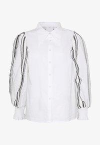FOUNDER - Button-down blouse - white