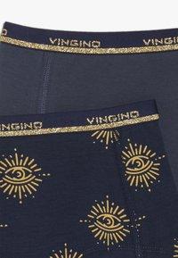 Vingino - EYE 2 PACK - Pants - dark blue - 4