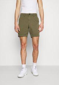 Hollister Co. - Shorts - olive - 0