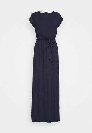 ROLL SLEEVE DRESS - Maxi šaty - navy