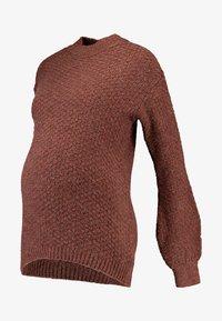 Anna Field MAMA - Pullover - brown - 3