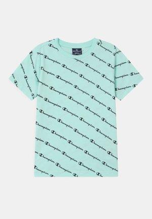 AMERICAN PASTELS CREWNECK UNISEX - Print T-shirt - light blue
