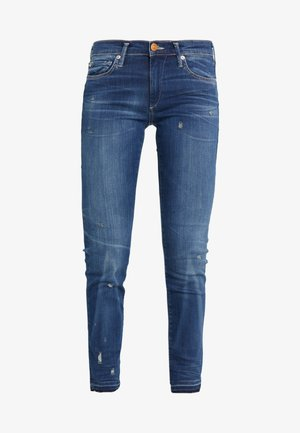 HALLE MODFIT  - Džíny Slim Fit - deep blue