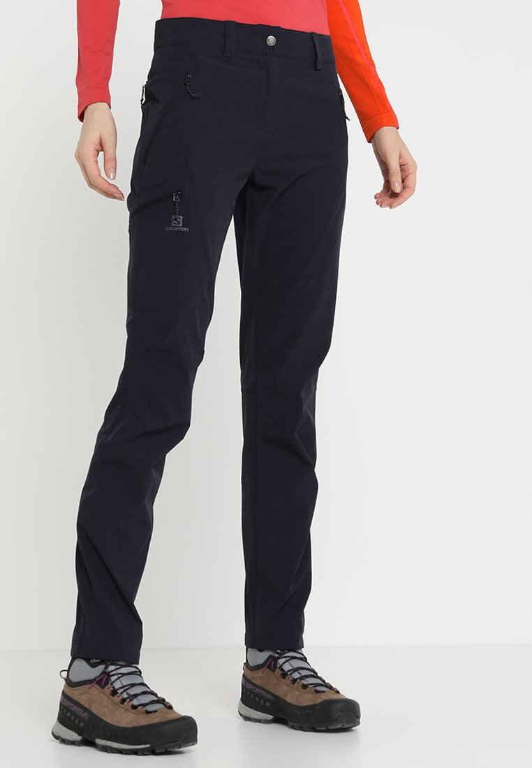 Salomon - WAYFARER TAPERED PANT - Friluftsbukser - night sky