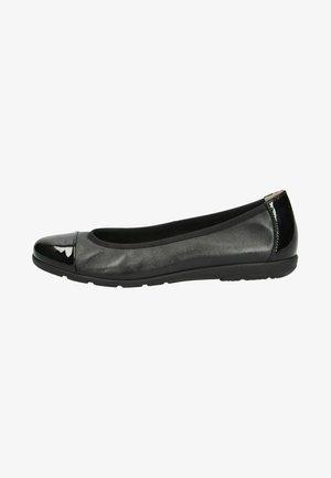 Ballet pumps - black nap/pat.