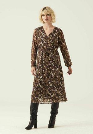 WITH FLOWERPRINT - Jersey dress - multicolor
