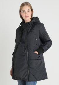 Modern Eternity - FAITH 3-IN-1 THIGH BOMBER PUFFER COAT - Winter coat - black - 0