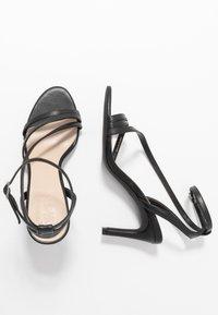 Zign - Sandaler med høye hæler - black - 3