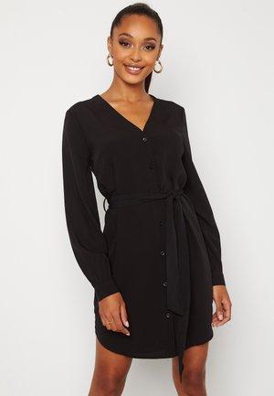 FENNE - Shirt dress - black