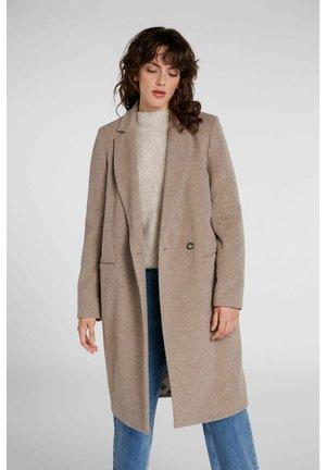 AUS ITALIENISCHER WOLLE-CASHMERE-MIX-QUALITÄT - Classic coat - taupe
