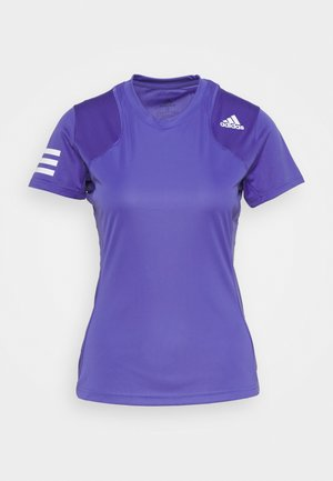 CLUB TEE - Triko s potiskem - purple/white