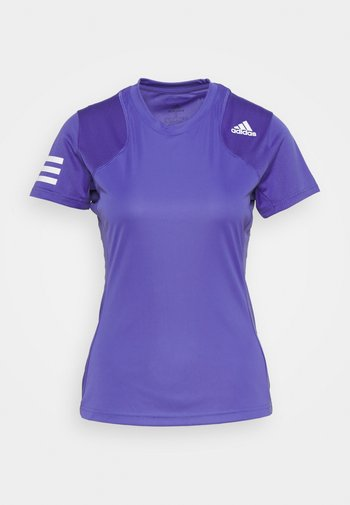CLUB TEE - T-shirts med print - purple/white